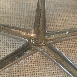 Jewelry - Sterling Silver Starfish Pendant